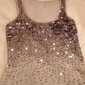 🔥Express Sexy Basic Sequin Tank🔥